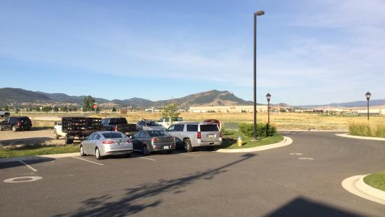 Residence Inn Helena: View from entrance of Mt. Helena