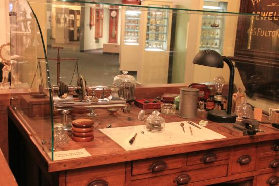 National Watch And Clock Museum More Modern Watchmaker S Desk