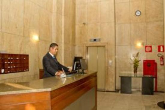 Ambassy Hotel: recepção