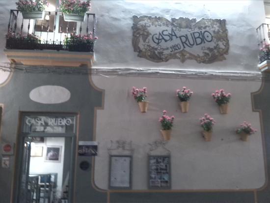 Casa Rubio: FACHADA