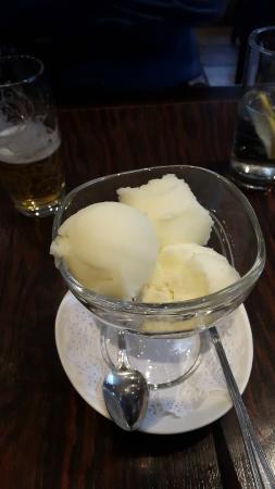 Dusit Thai Restaurant : Prosecco Sorbet