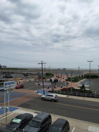Newport Beach Resort: Great view!