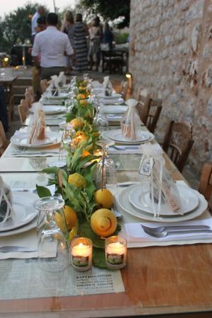 Citta dei Nicliani: Wedding table