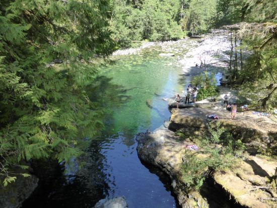 Нанаймо, Канада: Lower falls