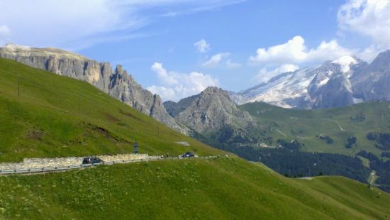 Selva di Val Gardena, Italia: La vista