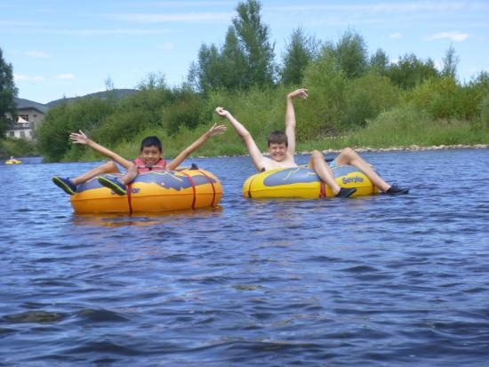 Backdoor Sports: Rafting on the Yampa River in Steamboat