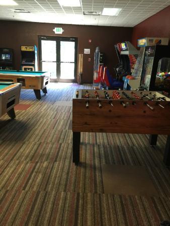 Wyndham Resort at Fairfield Glade: Game room in Community Center