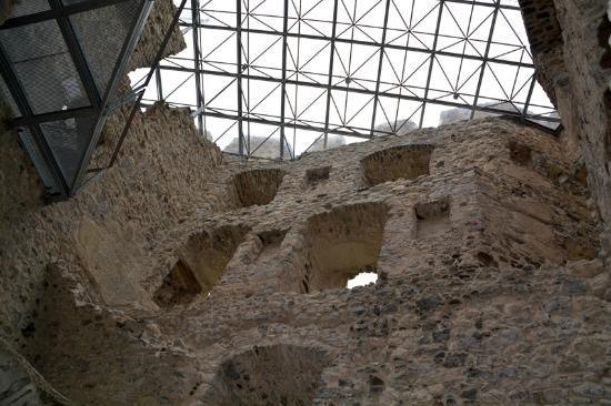 Livinallongo del Col di Lana, Italia: Copertura di protezione in vetro