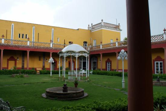 Hacienda San Miguel Ometusco: Uno de los patios