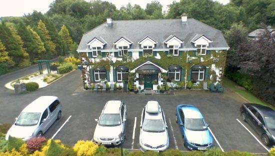 Augusta Lodge: Aerial view