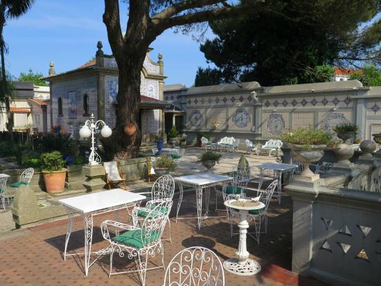 Castelo de Santa Caterina: Garden and terraces