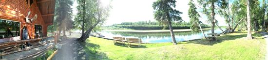 Anvik, AK: View from the lodge