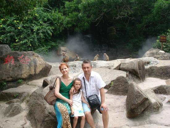 Tianfuyuan Resort: остров обезьян