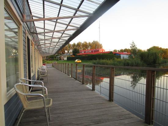 Waterlodge de Aalscholver : ark accommodation