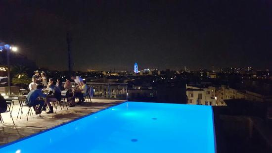 Grand Hotel Central: Sky bar on the rooftop
