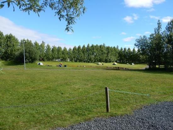 Gesthus Selfoss : The camping site