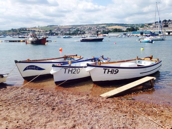 Teignmouth, UK: The fleet