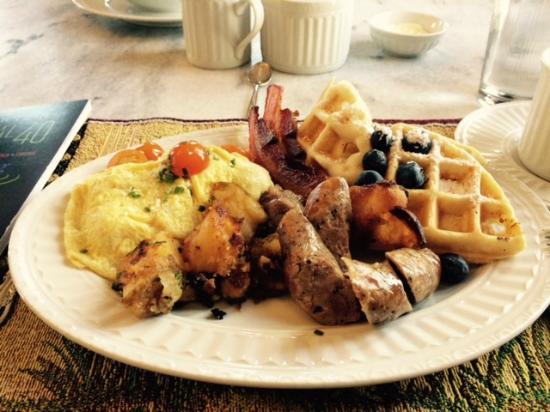 B&B Ranch: breakfast, course #2