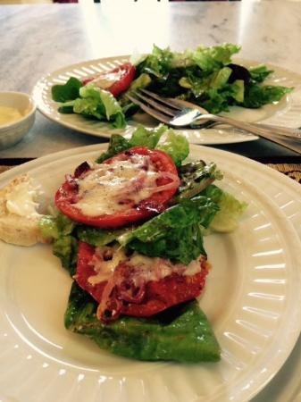 B&B Ranch: dinner salad