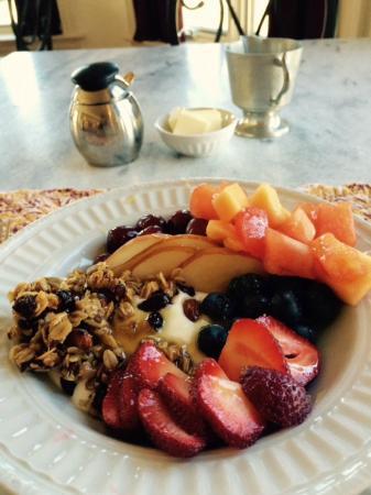 B&B Ranch: breakfast, course #1