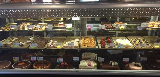 Tony's Bistro & Patisserie: Great selection, great coffee, satisfies the sweet tooth when you buy them all.  My fav fav was