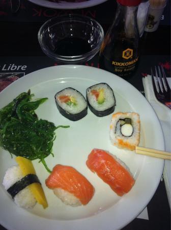 M. Wok: Sushi variado