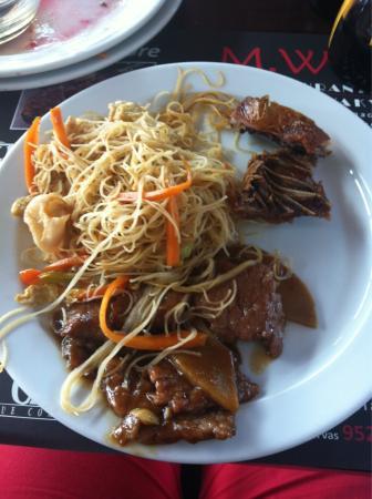 M. Wok: Comida china