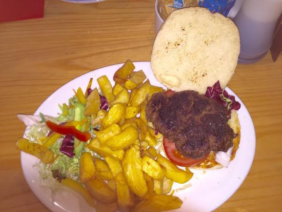 Jack Mcphee: Kangaroo burger. Before