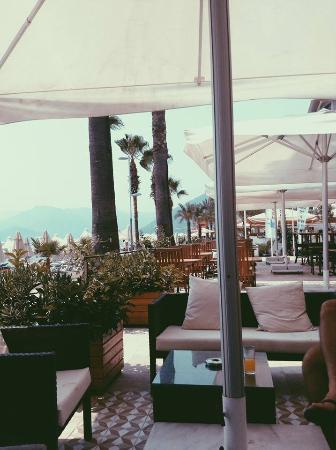 Begonville Beach Hotel : Отель и местность