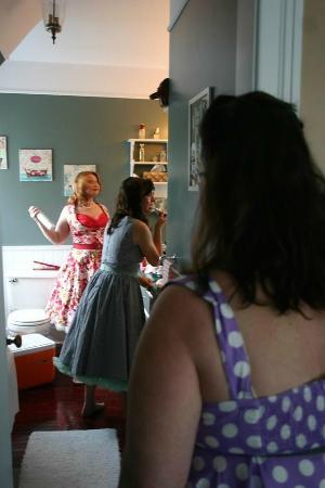 Hill Road Manor Bed & Breakfast : Exploits Room bathroom