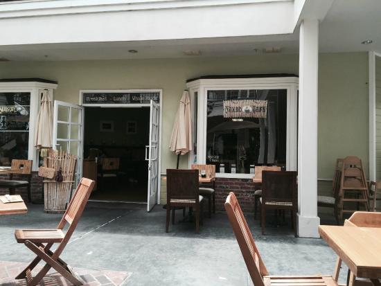 The Naked Cafe: Naked Cafe Front Entrance