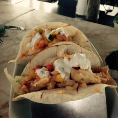 East Bay Grill: Fish Tacos