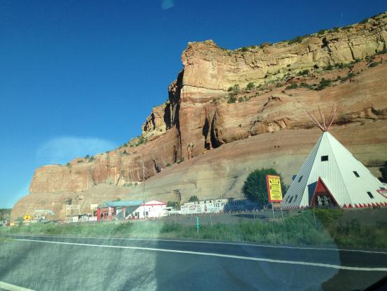 Quality Inn And Suites Gallup: gallup is close to these rock formations