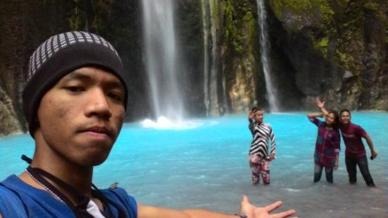 Mantap  Picture of Two Colors Sibolangit Waterfall, Medan