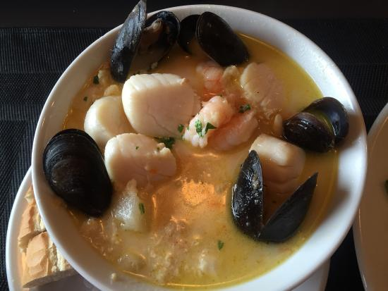 Chester, Canadá: Seafood chowder