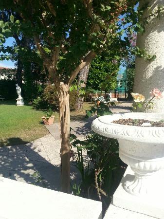 Hotel al Cigno: giardino