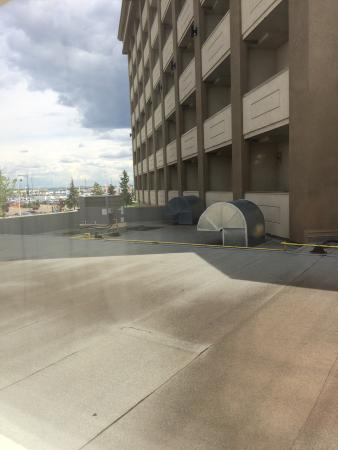 Ramada Edmonton South: They view we had for a week