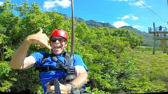 Swinging Above Kipu Falls Picture Of Outfitters Kauai