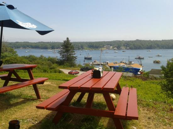 Pemaquid, เมน: View from outdoor