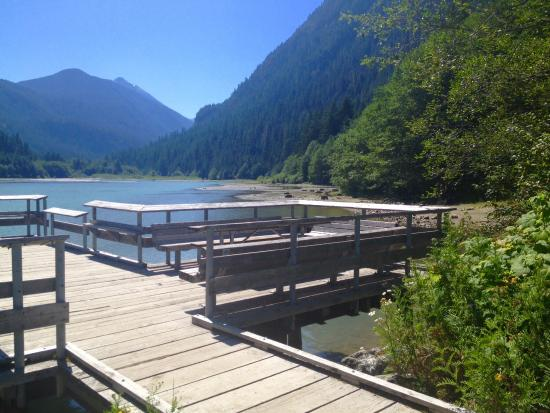 Colonial Creek Campground - Stehekin Valley Trail: Peaceful!