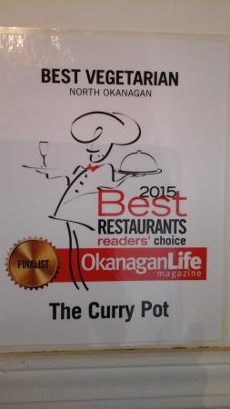 Vernon, Canada: Best vegetarian  finalists 2015 from  Okanagan life