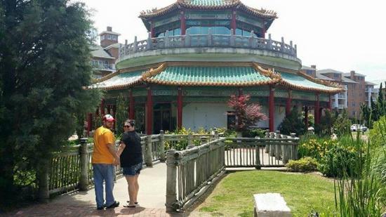Pagoda U0026 Oriental Garden: Getting Artsy Here