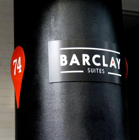Barclay Suites Auckland : Barclay Suites Entrance