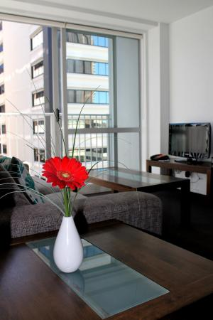 Barclay Suites Auckland: Executive Suite Two Bedroom Lounge Area