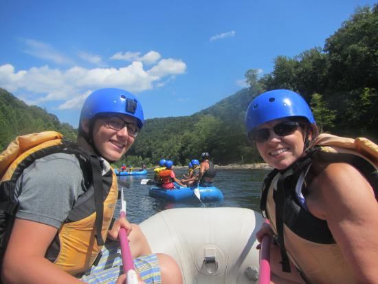 Parsons, Virginia Occidental: Jackson and Jennifer all set for their adventure
