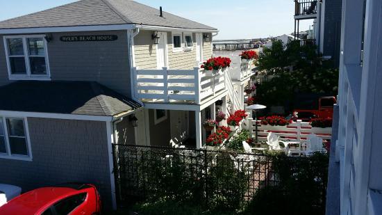 Anchor Inn: view from Inn