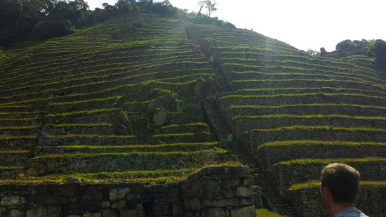 The Ruins of Intipata: Terraces