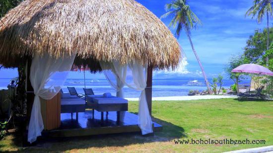 Bohol South Beach Hotel Outdoor Spa