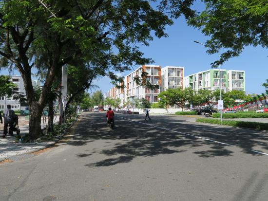 Hulhumale: メインストリート