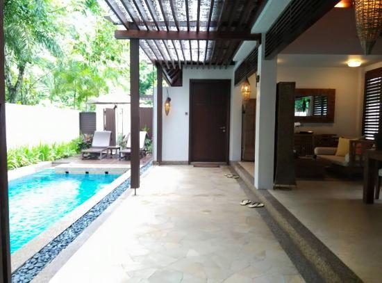 The Banjaran Hotsprings Retreat: Private pool